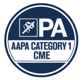 AAPA Category 1 CME icon